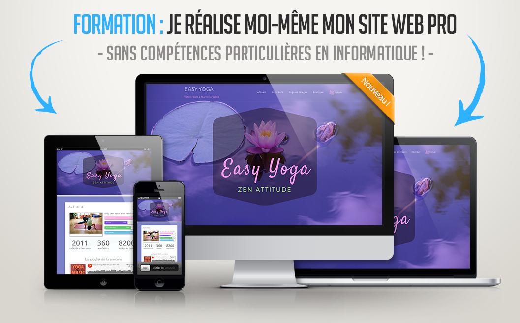 Votre site pro sur écran, tablette, mobile